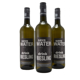 SAVE WATER DRINK RIESLING !