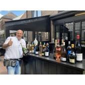 Exclusieve BOTTLES NEXT DOOR @HOME wijnproeverij met entertainment THEMA FRANKRIJK voor 5 - 8 persoenen